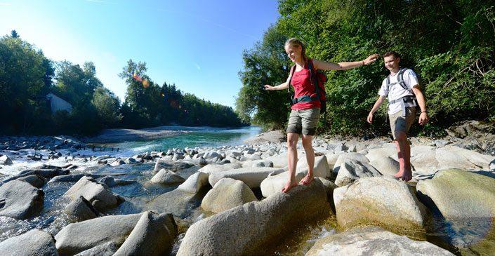 WALDNESS im Almtal - am Fluss